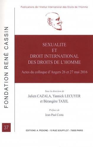 Sexualité et droit international des droits de l'homme
