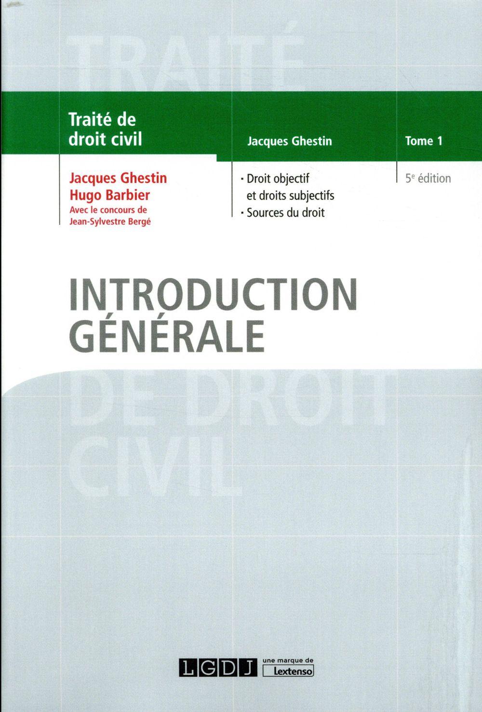 Introduction générale (5e édition)