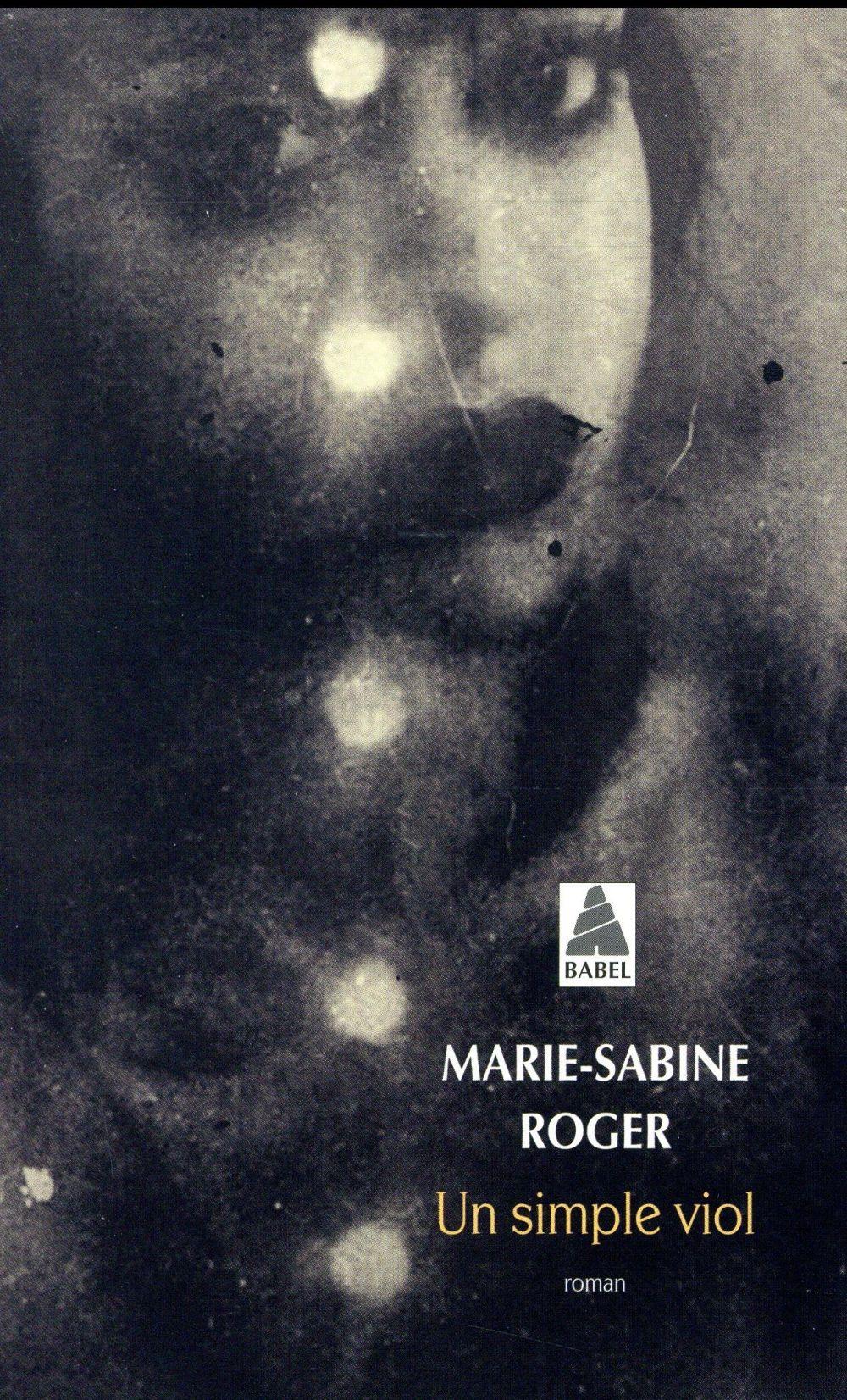 UN SIMPLE VIOL Roger Marie-Sabine