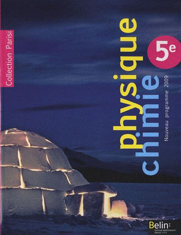 Parisi; Physique-Chimie ; 5eme (Edition 2010)