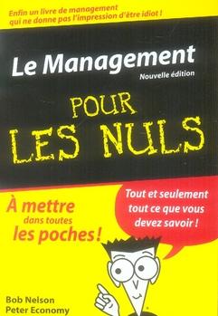 Le management pour les nuls (2e édition)