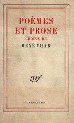 Vente EBooks : Poèmes et prose choisis  - René CHAR