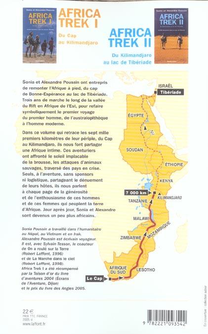 Africa trek ; 14 000 kilomètres dans les pas de l'homme