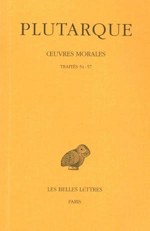 oeuvres morales t.12 ;1ère partie