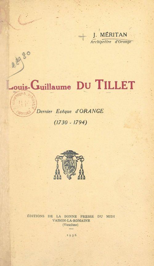 Louis-Guillaume du Tillet