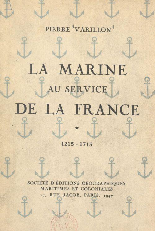 La Marine au service de la France