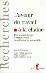 Vente EBooks : L'avenir du travail à la chaine  - Paul STEWART - Jean-Pierre DURAND - Juan José CASTILLO