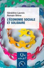 Vente Livre Numérique : L'économie sociale et solidaire  - Romain SLITINE - Géraldine Lacroix
