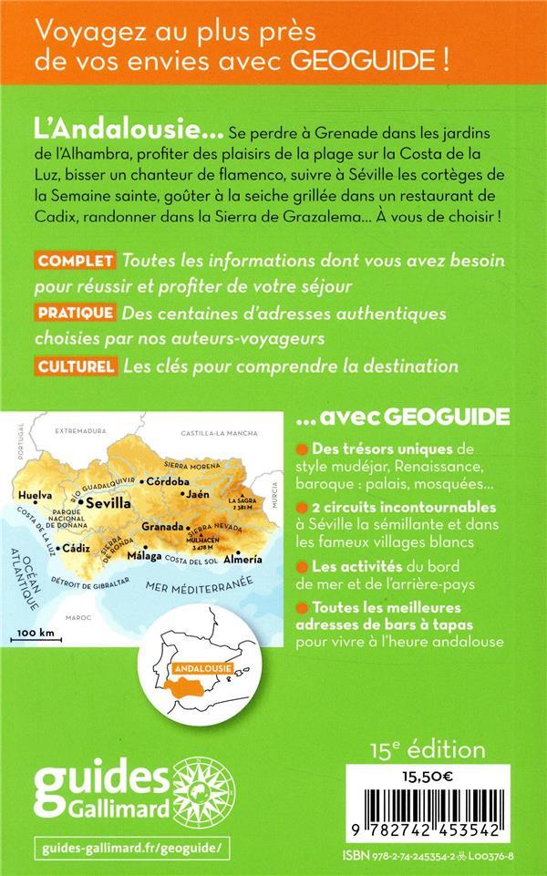 GEOguide ; Andalousie ; Séville, Grenade, Cordoue (édition 2019)
