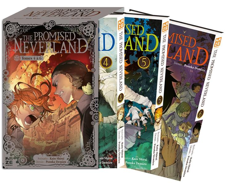The promised Neverland ; COFFRET VOL.2 ; T.4 A T.6