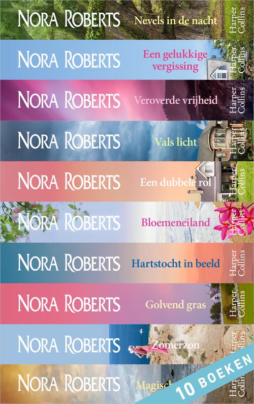 Nora Roberts e-bundel 10-in-1 bundel 2 - Nora Roberts - ebook