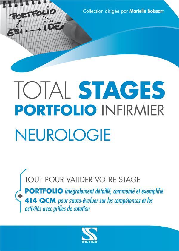 Total stages - portfolio infirmier ; neurologie ; tout pour valider votre stage