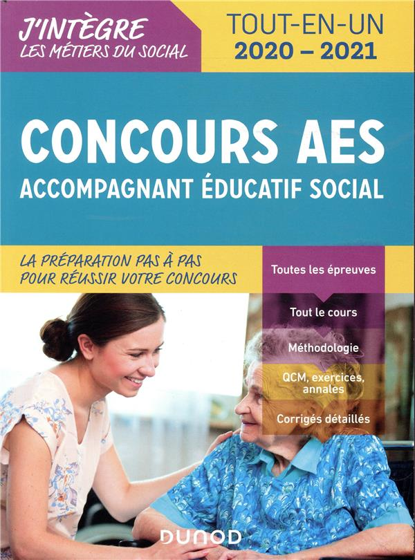 CONCOURS AES  -  ACCOMPAGNANT EDUCATIF SOCIAL  -  TOUT-EN-UN (EDITION 20202021) PERRIER, FREDERIC