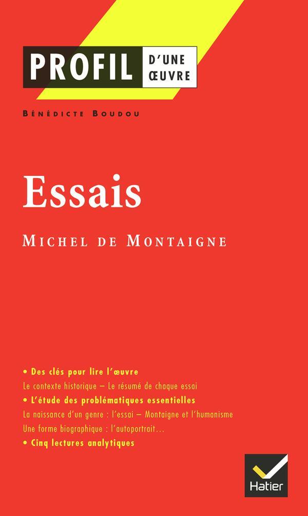 Essais De Michel De Montagne