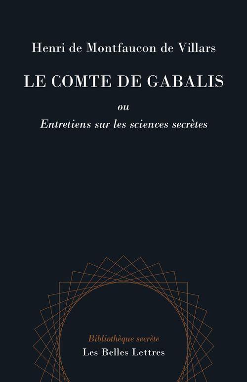 Le comte de Gabalis ; entretien sur les sciences secrètes