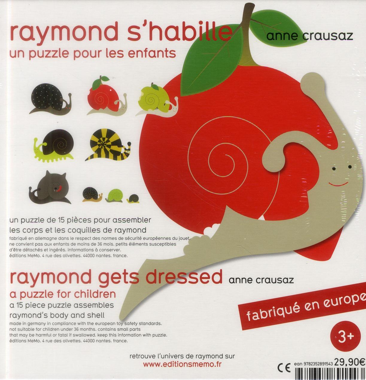 Raymond s'habille