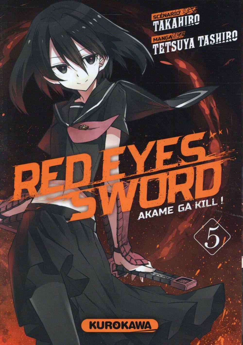 Red eyes sword - Akame ga Kill  T.5