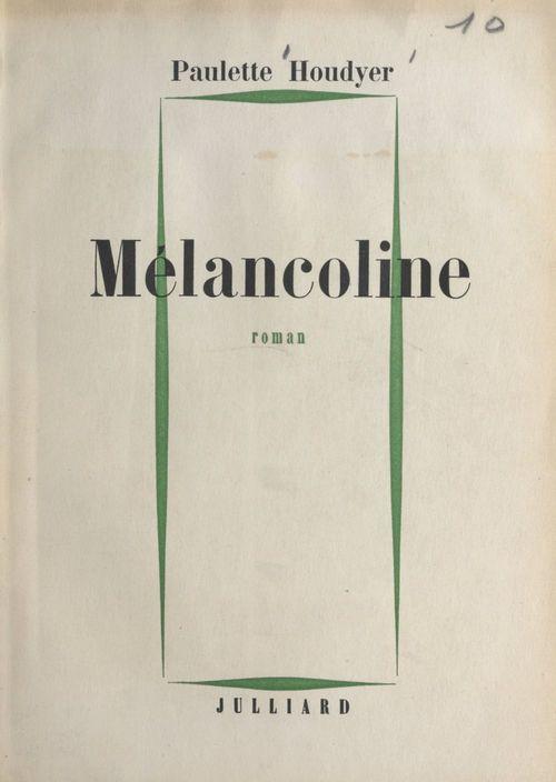 Mélancoline
