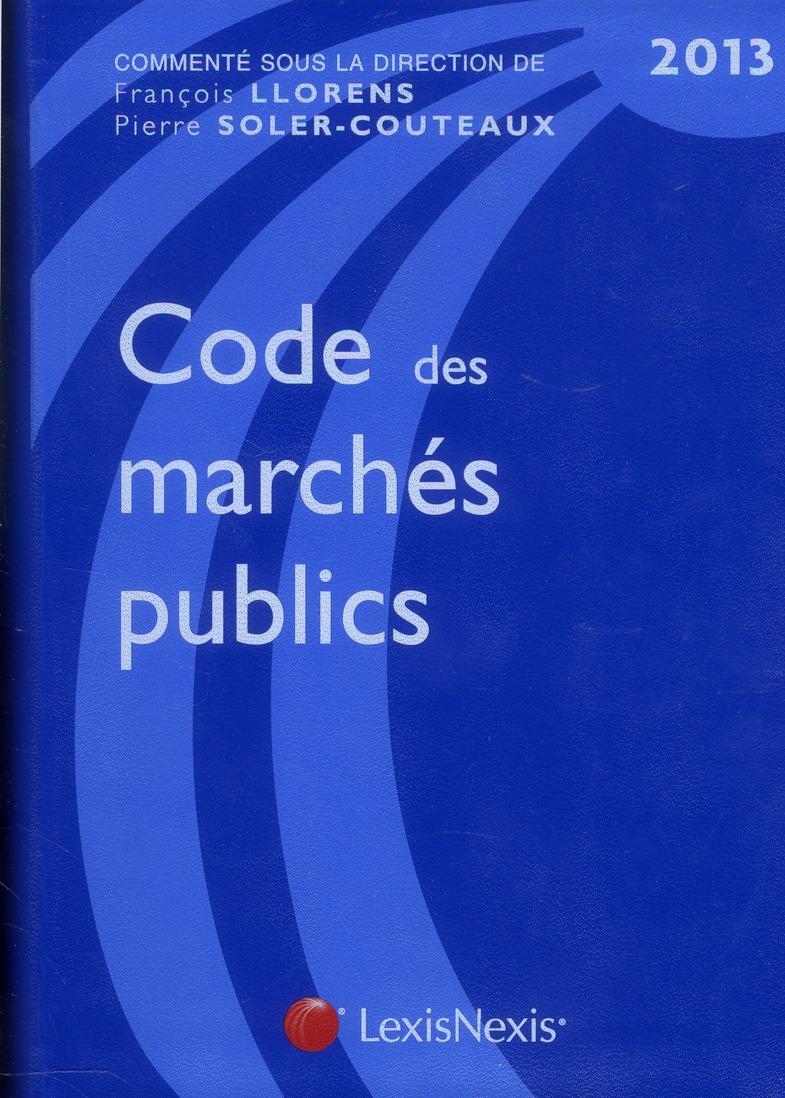 Code Des Marches Publics (6e Edition)