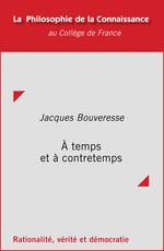 Vente EBooks : À temps et à contretemps  - Jacques BOUVERESSE