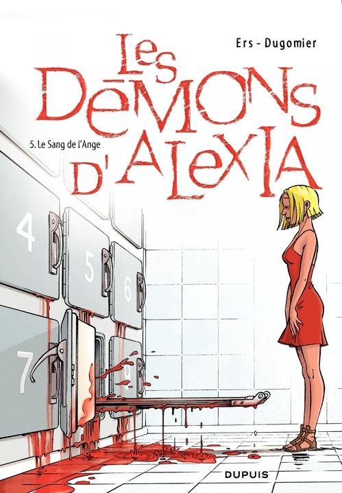 les démons d'Alexia t.5 ; le sang de l'ange