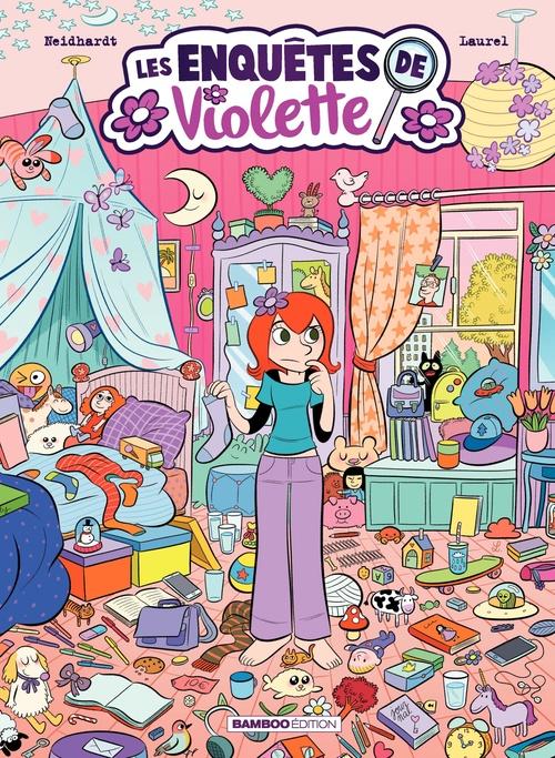 Les Enquêtes de Violette - Tome 2 - Les Enquêtes de Violette - Tome 2  - Neidhardt  - Frederic Neidhardt  - Laurel