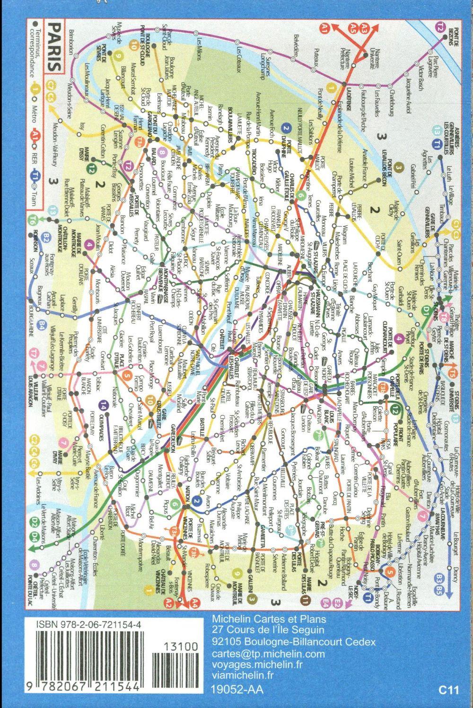 Paris tourisme ; city map (édition 2017)
