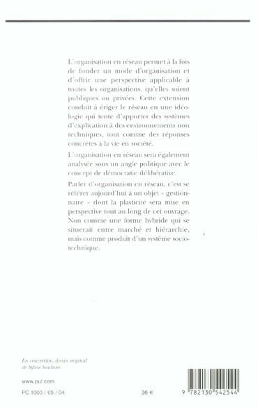L'organisation en réseau, mythes et réalités