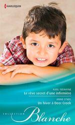 Vente Livre Numérique : Le rêve secret d'une infirmière - Un hiver à Deer Creek  - Avril Tremayne - Annie O'Neil