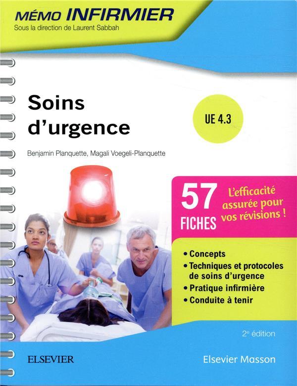 Soins d'urgence ; UE 4.3