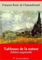 Vente Livre Numérique : Tableaux de la nature - suivi d'annexes  - François-René de Chateaubriand