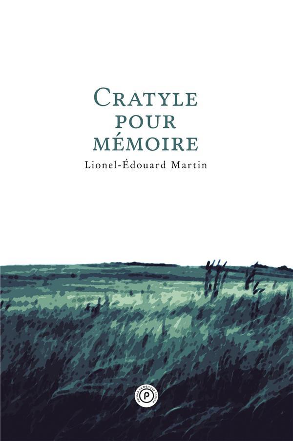 Cratyle pour mémoire