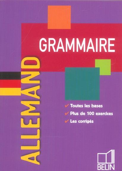 Grammaire De L'Allemand