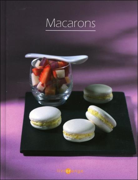 macarons ; livrorange