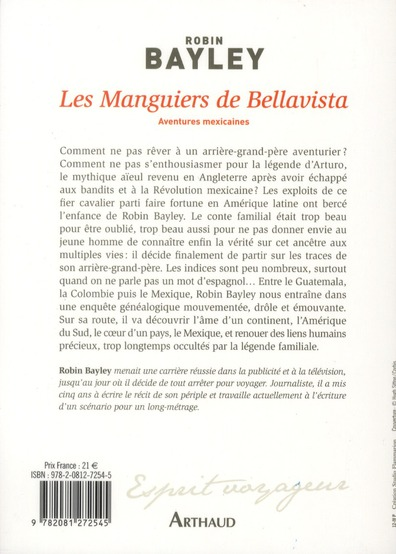 les manguiers de Bellavista ; aventures mexicaines