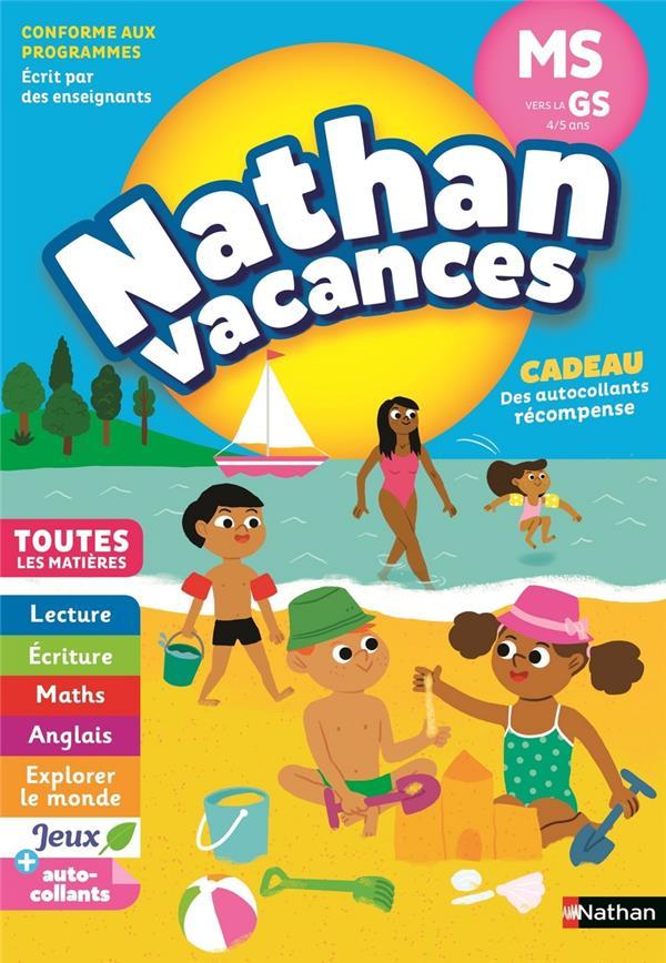 NATHAN VACANCES ; toutes les matières ; de la MS vers la GS ; 4/5 ans (édition 2018)