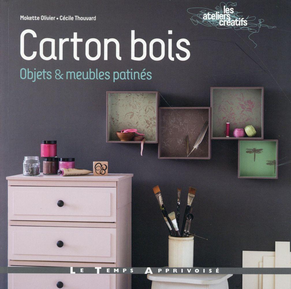 CARTON BOIS - PATINES et COULEURS