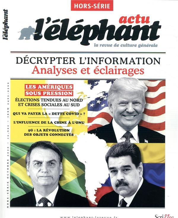 L'elephant hors-serie ; actu octobre 2020