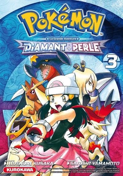 Pokémon ; la grande aventure - Diamant Perle Platine t.3