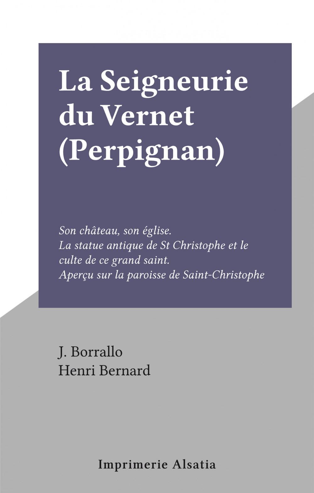 La Seigneurie du Vernet (Perpignan)