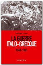 Vente Livre Numérique : La Guerre Italo-Grecque  - Dominique LORMIER