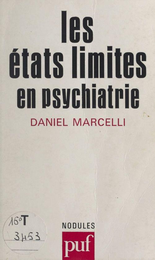 Les états limites en psychiatrie