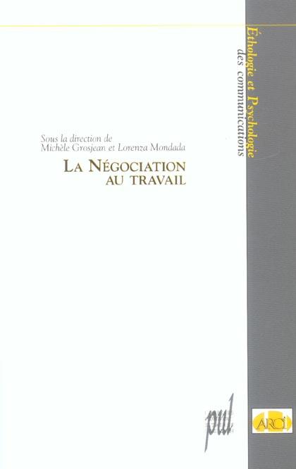 La negociation au travail