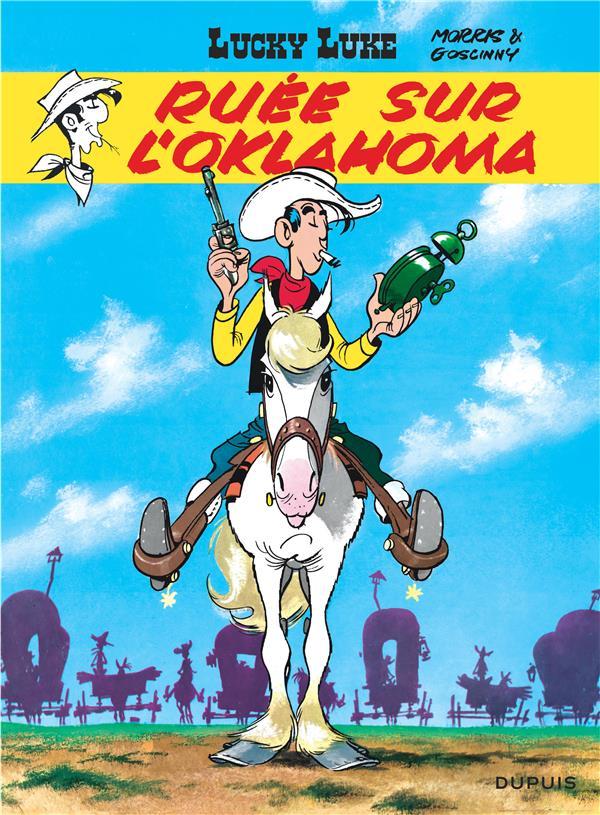 LUCKY LUKE (DUPUIS) - LUCKY LUKE - TOME 14 - RUEE SUR L'OKLAHOMA MORRIS/GOSCINNY