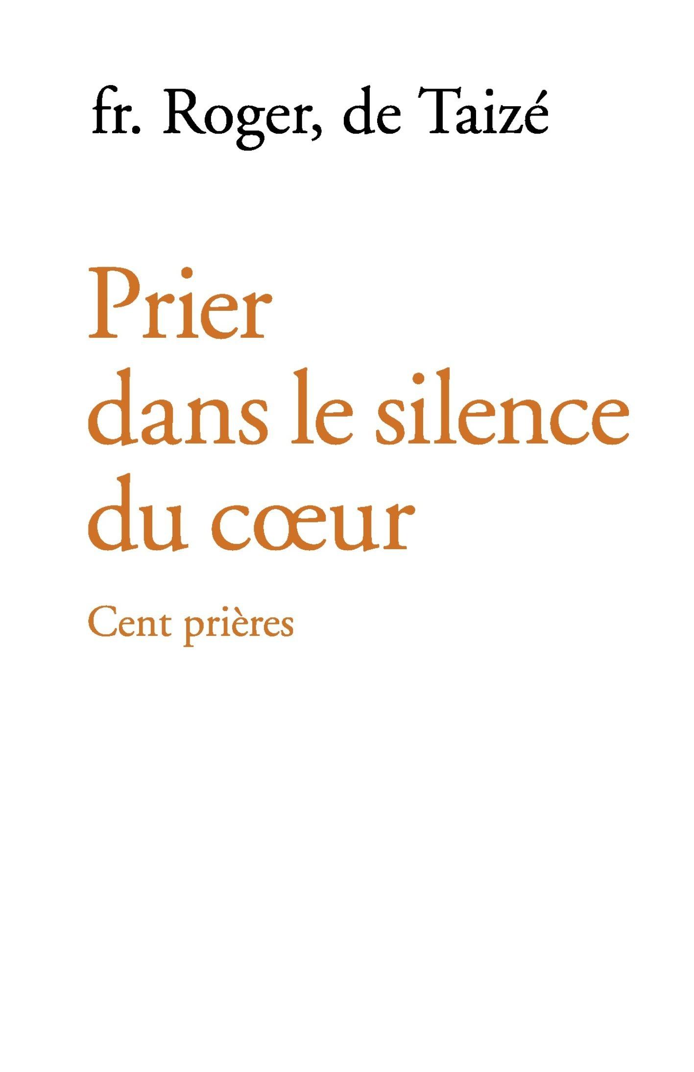 Prier dans le silence du coeur