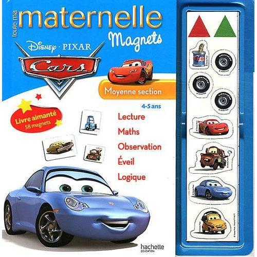 Toute Ma Maternelle; Cars ; Moyenne Section