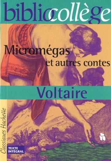 VOLTAIRE+HOUDART-MER - MICROMEGAS ET AUTRES CONTES