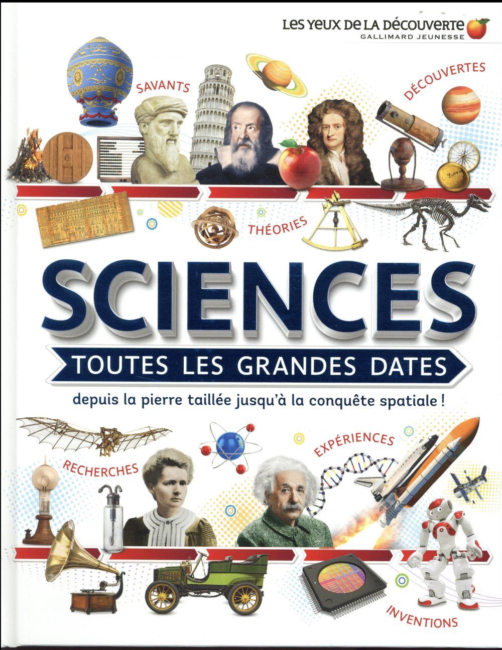 Sciences : toutes les grandes dates, depuis la pierre taillée jusqu'à la conquête spatiale !