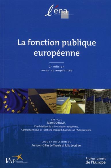 La fonction publique européenne (2e édition)