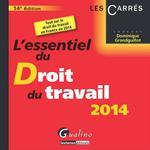 Vente Livre Numérique : L'essentiel du droit du travail 2014 - 14e édition  - Dominique Grandguillot